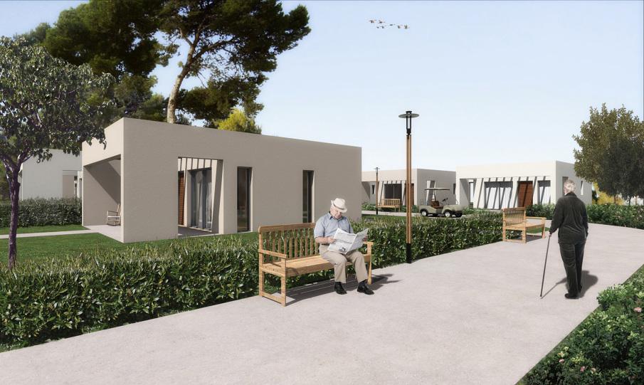 Housing Complex For Elderly People Achilles Kalogridis