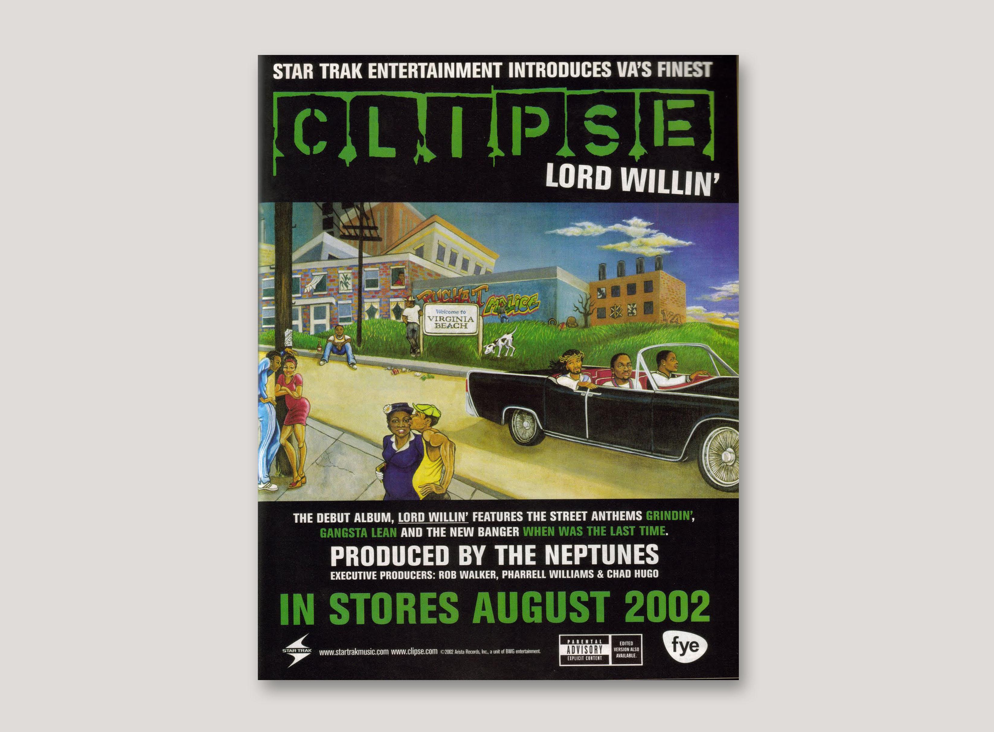 Clipse lord willin blogspot