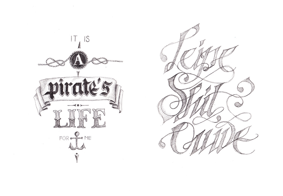 Some Typography Calligraphy Had Lettering Works From The Past Months Made By Me